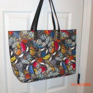 INC Butterfly Tote